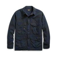 新作!★人気★送料関税込★ Camo Cotton-Blend Shirt Jacket