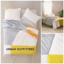Urban Outfitters☆Geo Colorblock Quilt 税送込