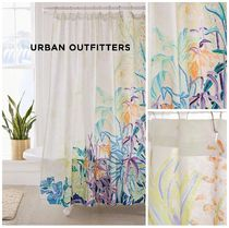 Urban Outfitters☆Painterly Foliage Shower Curtain税送込