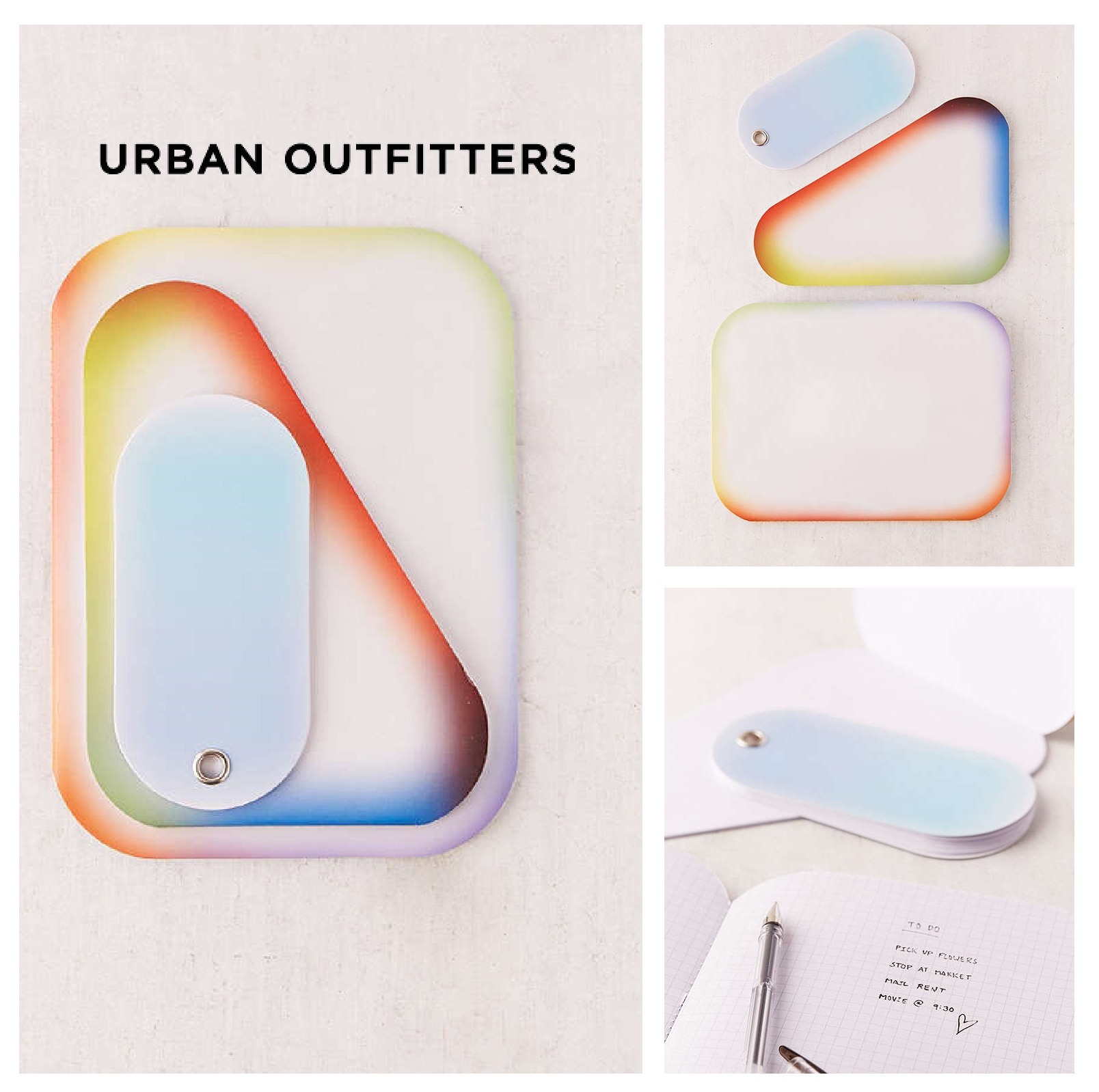 Urban Outfitters☆Assorted Graphic Notebook Set☆税送込