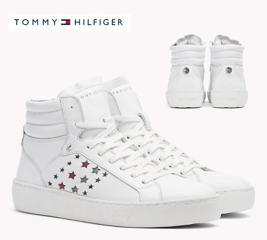 【Tommy Hilfiger】Leather sneaker
