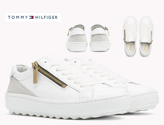 【Tommy Hilfiger】Patent leather sneaker