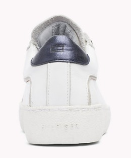 【Tommy Hilfiger】 leather sneaker