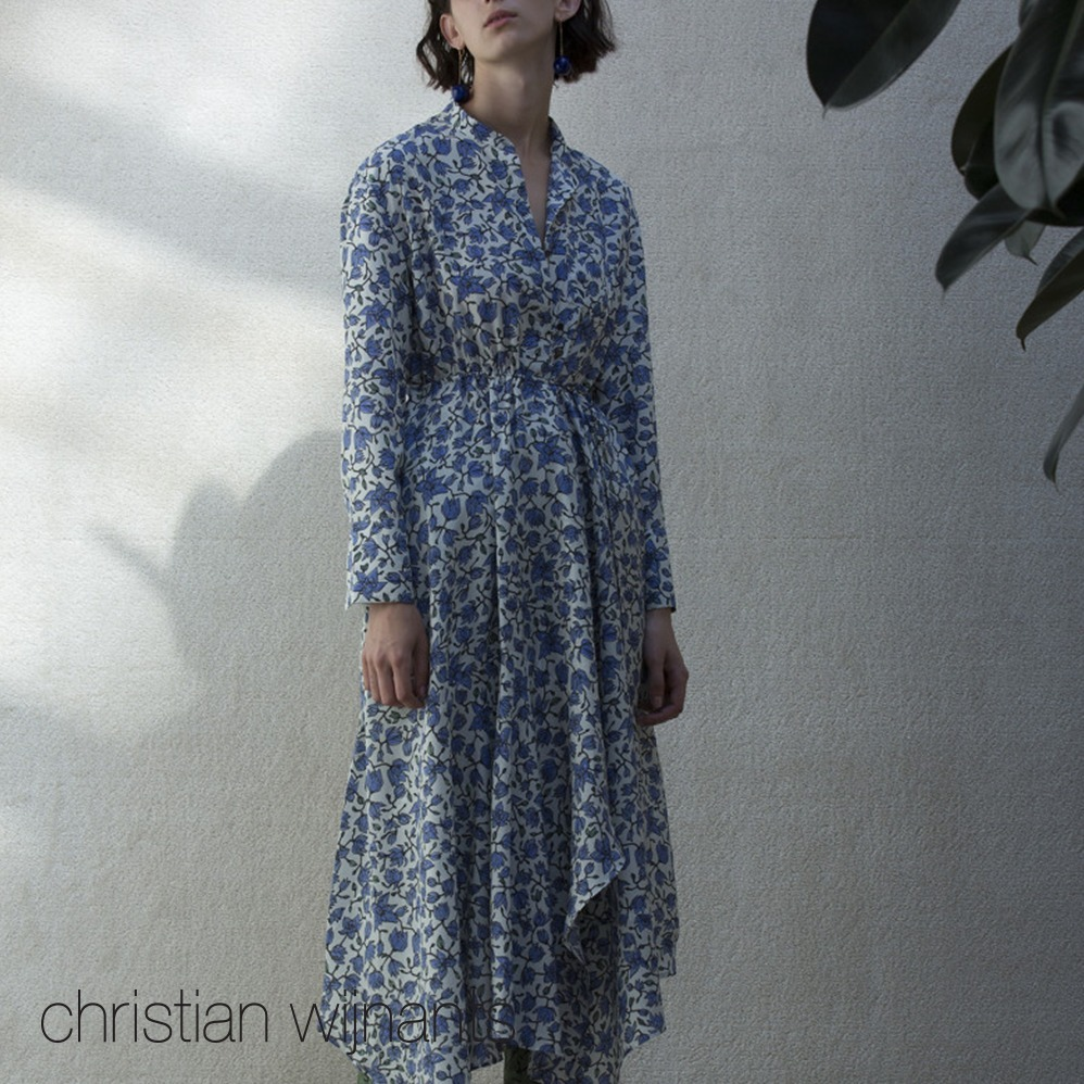 christian wijnants*LONGSLEEVE SHIRTDRESS DAZAL*ワンピース