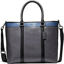 ☆COACH☆PERRY BUSINESS TOTE IN COLORBLOCK