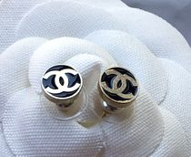 CHANEL A99037 CCラウンド デザインピアス【買付済&国内発送】