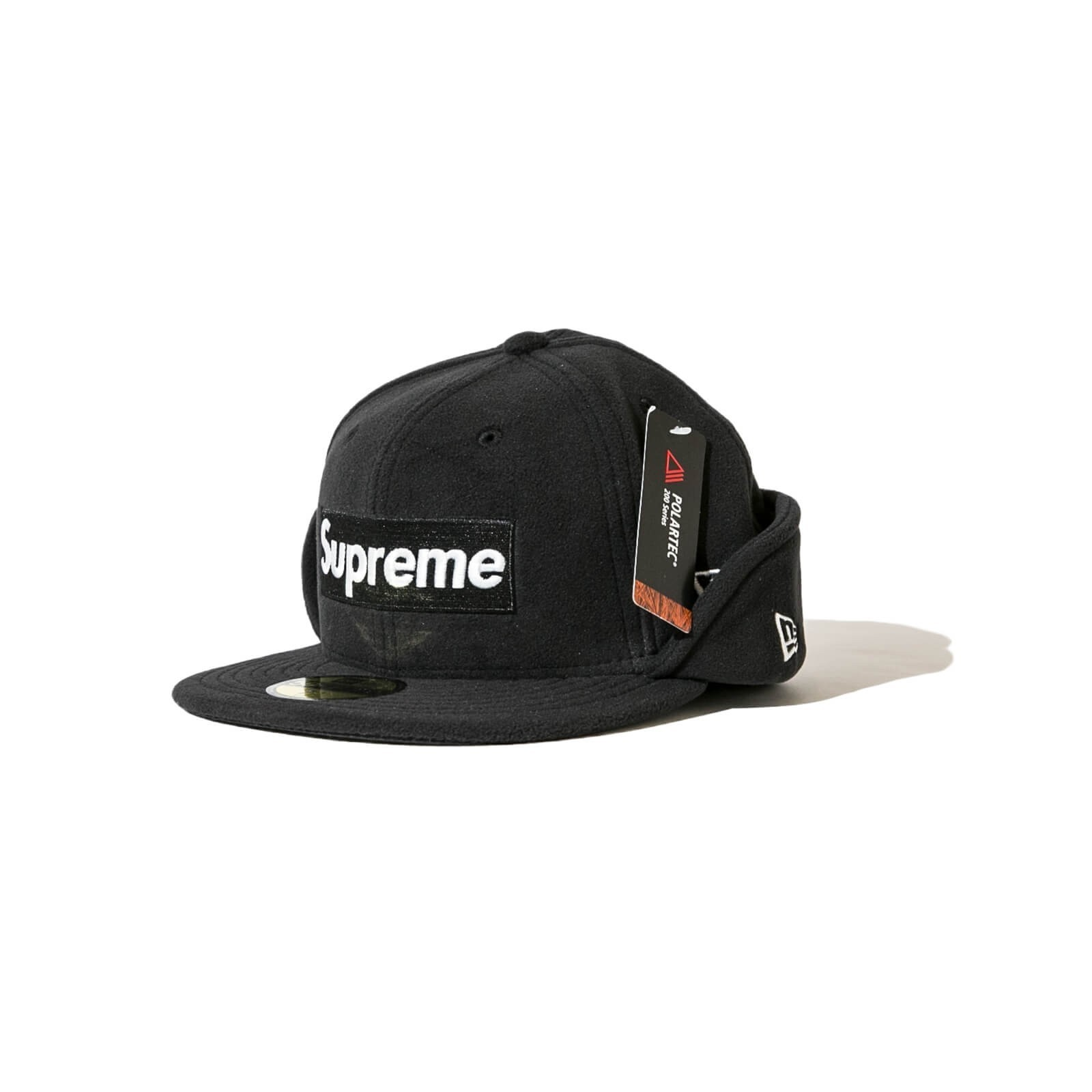 ☆国内即発送込☆Supreme Polartec Ear Flap New Era 7 1/4 17AW