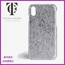 THE CASE FACTORY(ザ ケース ファクトリー) スマホケース・テックアクセサリー 日本未入荷☆THE CASE FACTORY☆Crushed Metallic iPhoneX case