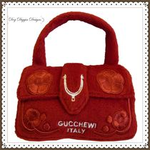 Gucchewi Red Floral Purse グッチゥイ フローラル パース