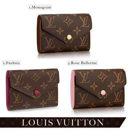 purchase cheap 09d72 b42b7 Louis Vuitton ルイヴィトン★VICTORINE★モノグラム 折り財布