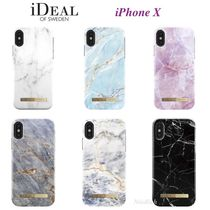 iDEAL OF SWEDEN(アイディール) スマホケース・テックアクセサリー 北欧発!☆iDEAL OF SWEDEN☆大理石模様♪iPhone Xケース*6色