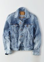 American Eagle Outfitters(アメリカンイーグル) ダウンジャケット [AEO] [Men] Medium wash denim jacket
