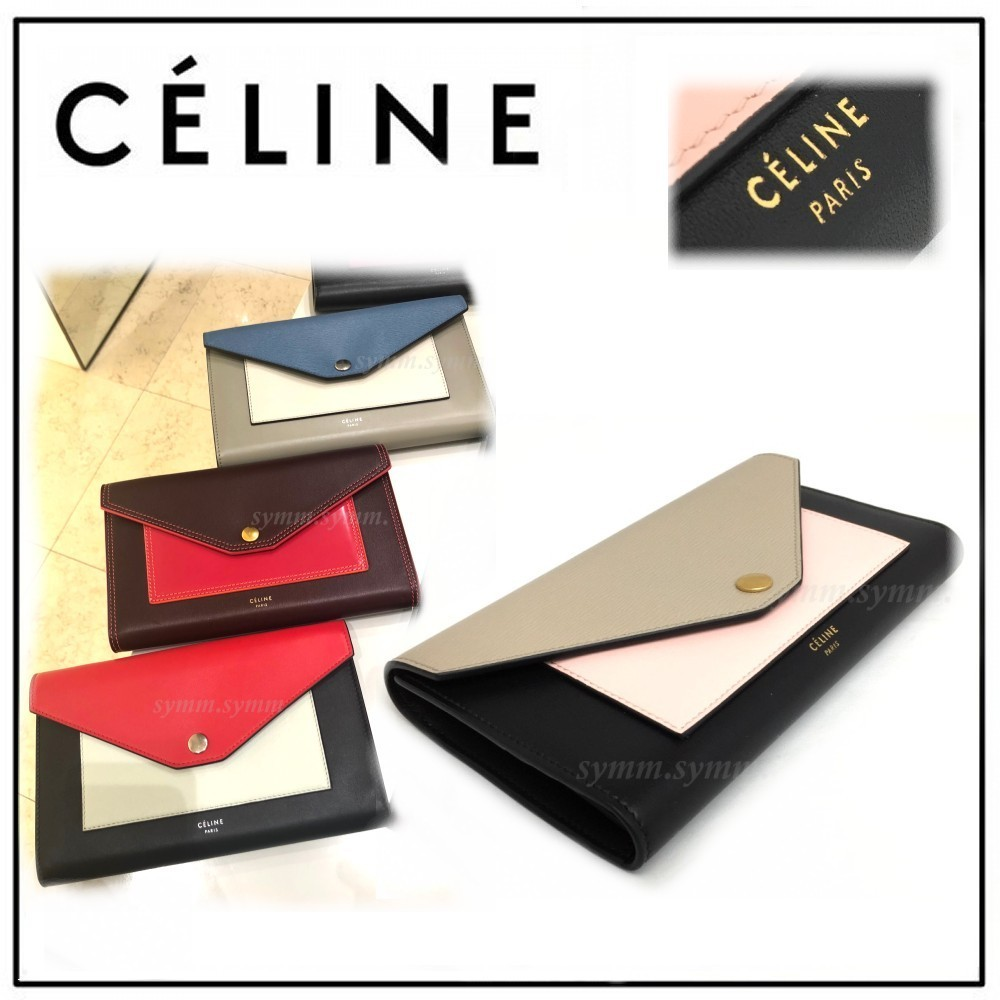 【希少】エレガント★CELINE★Pocket Trifolded★長財布★新色