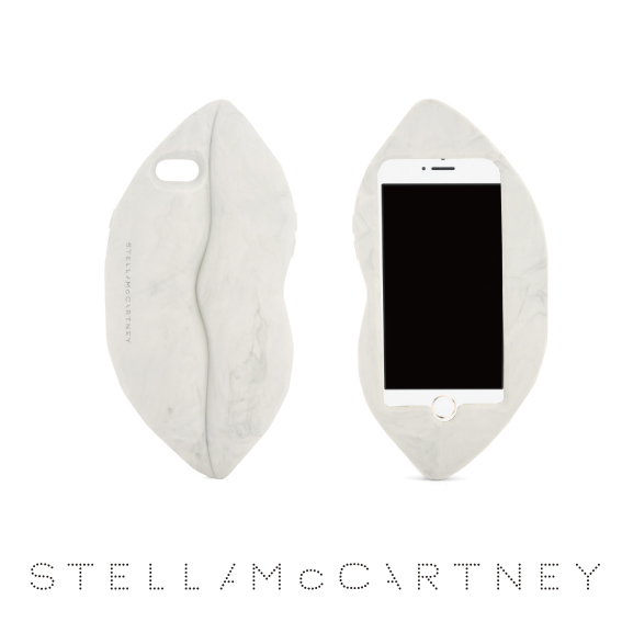 【Stella McCartney】Lips iPhone7ケース/ホワイト