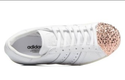 adidas Originals Superstar ローズグリッター☆*:.。. BB2034