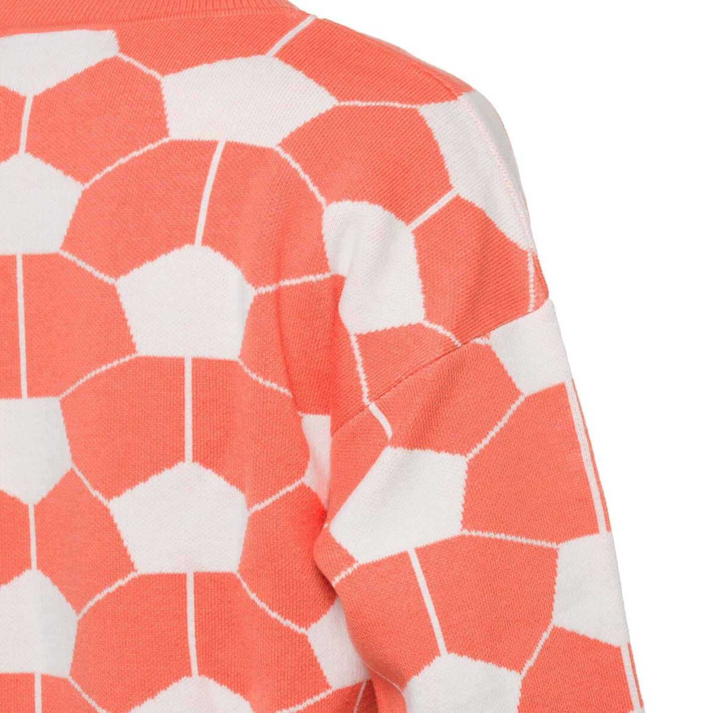 Gosha Rubchinskiy Men's Pink Hexagon Sweater