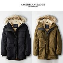 American Eagle Outfitters(アメリカンイーグル) ダウンジャケット ☆American Eagle Outfitters☆ ヘンリー着用 Expedition parka
