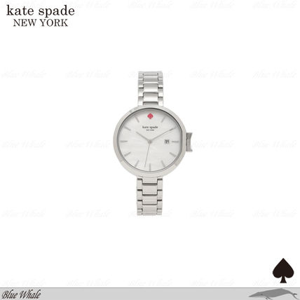 関送込♪kate spade♪PARK ROW STAINLESS STEEL WRIST WATCH SVR