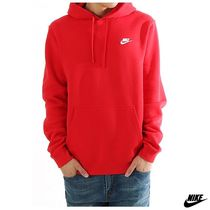 新作!Nike(ナイキ)NSW CLUB FLEECE PULLOVER HOODIE レッド