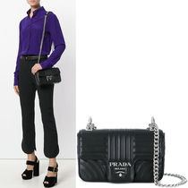 PR910 PRADA DIAGRAMME T-FLAP SHOULDER BAG SMALL