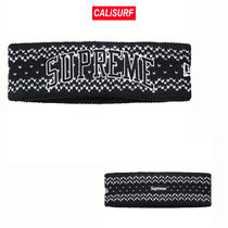 FW17★ Supreme NewEra Arc Logo Headband-Black