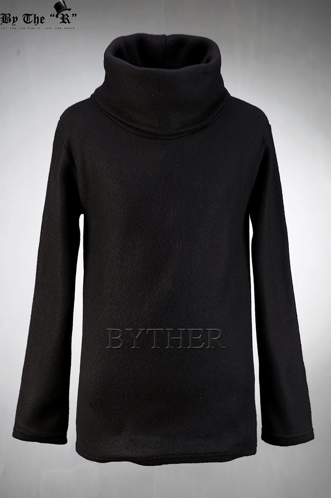 ★韓国の人気★BTHR★OVER WIDE TURTLENECK T-SHIRT 3色★