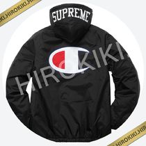【17AW】Supreme Champion Sherpa Lined Hooded Jacket Black 黒