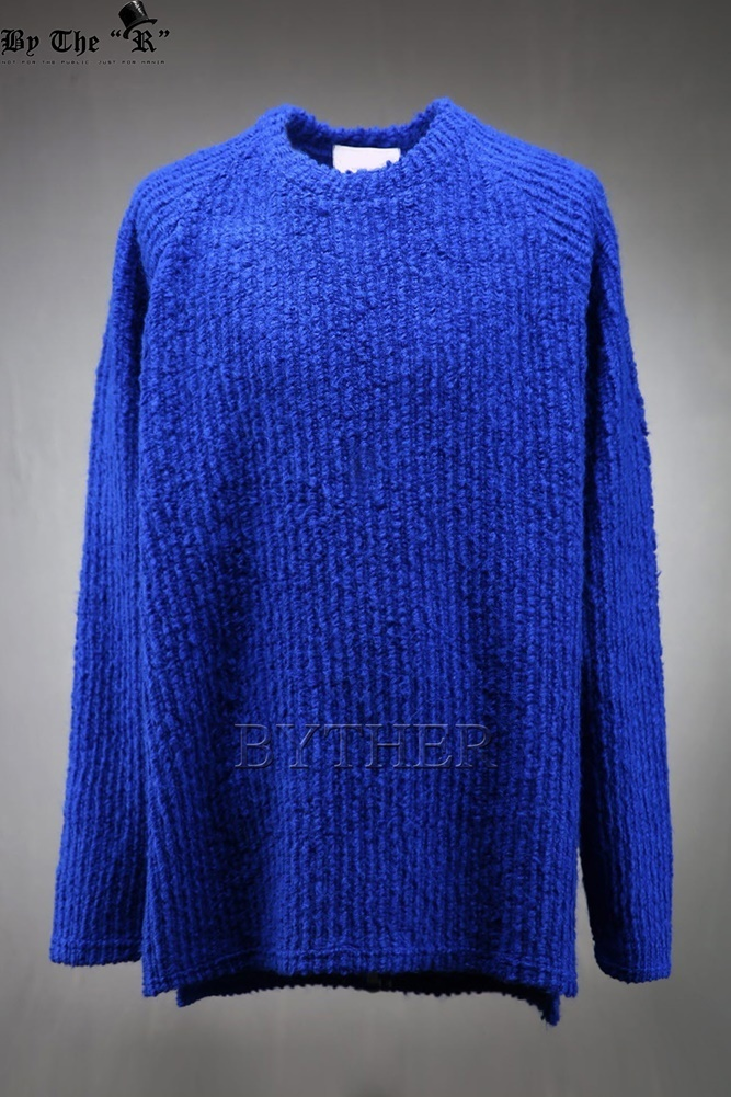 ★韓国の人気★BTHR★SIDE-SLIT KNITTED T-SHIRT★