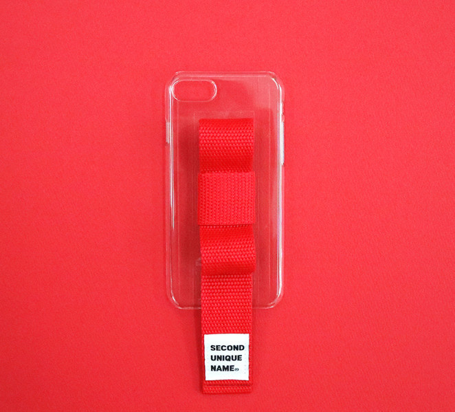 ☆SECOND UNIQUE NAME☆SUN CASE RIBBON 4色 (iPhone)