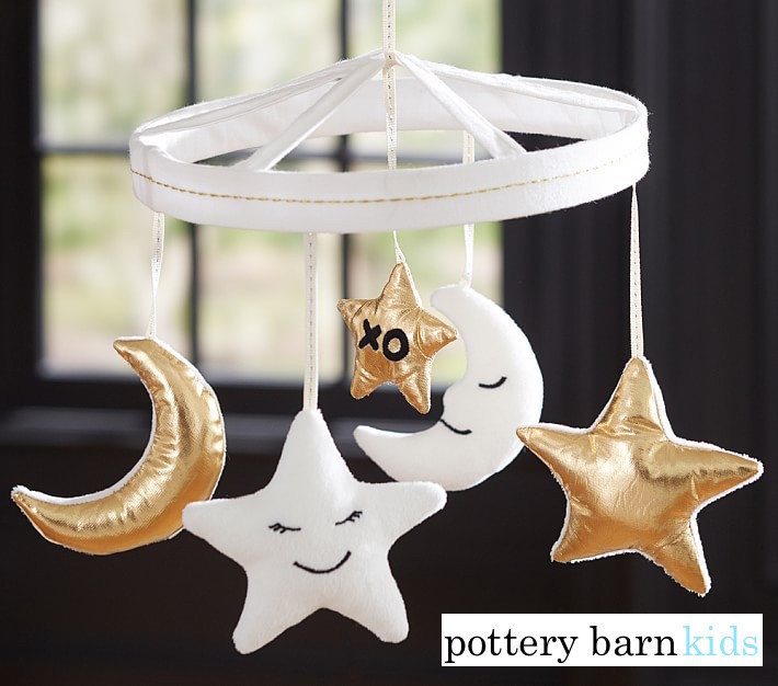【Pottery Barn】Moon & Stars Crib Mobile☆モビール☆送込み