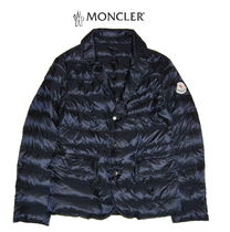 "18ss☆MONCLER""EMERIC""ブレザー軽量ダウンNAVY 12/14A【関税込】"