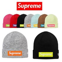 17FW Supreme X New Era Box Logo Beanie ニット帽 選べる7色