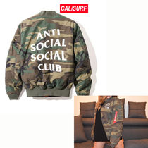 SALE★ANTI SOCIAL SOCIAL CLUB MA1/XLサイズ