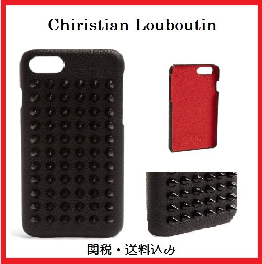 ルブタン☆新作 Loubiphone Leather iPhone7/8 case