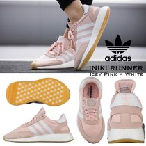 ADIDAS ORIGINALS INIKI RUNNER ( Icey Pink × White ) WOMEN'S