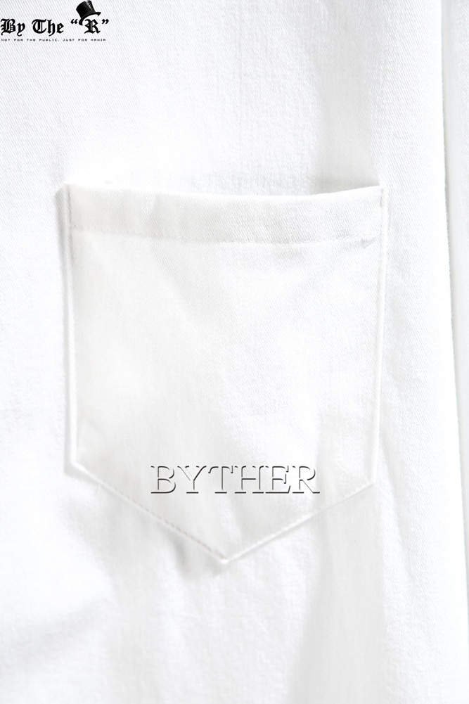 ★韓国の人気★BTHR★BYTHER LOOSE-FIT SIDE-SLIT LONG SHIRTS★