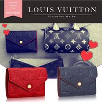 Louis Vuitton ルイヴィトン★VICTORINE コンパクト 折財布