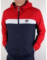 FILA CLIPPER JACKET LM163UP2 RED/NAVY/WHITE