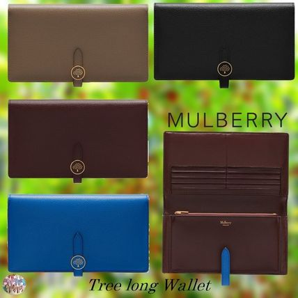 Mulberry 長財布 Mulberry☆Tree Long Wallet ロングウォレット  シンプル