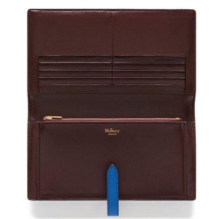 Mulberry 長財布 Mulberry☆Tree Long Wallet ロングウォレット  シンプル (9)
