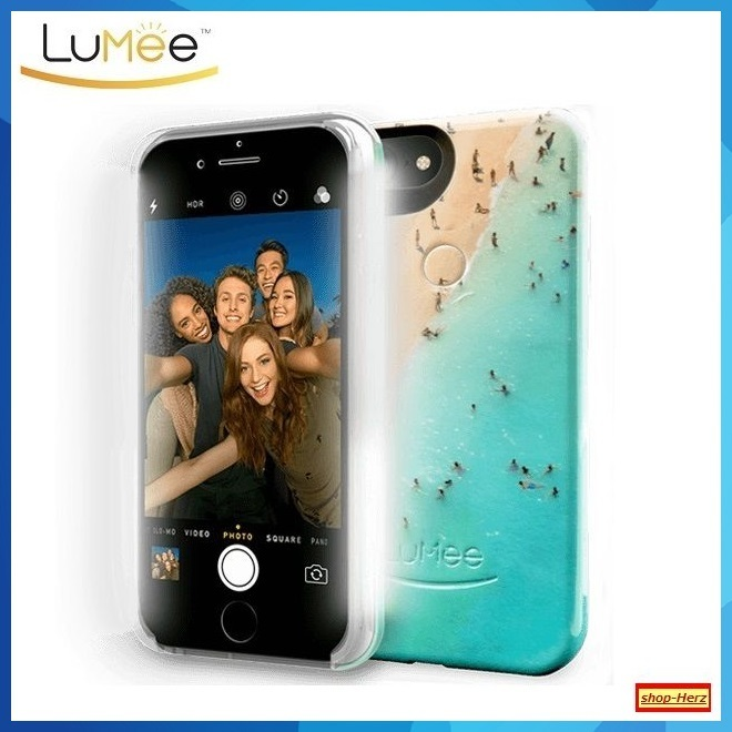 ★LuMee★ LEDライト内蔵 DAY AT THE BEACH iPhoneケース 関税込