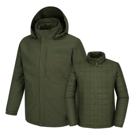 [THE NORTH FACE] 3 IN 1 POWELL TRICLIMATE ジャケット 2カラー