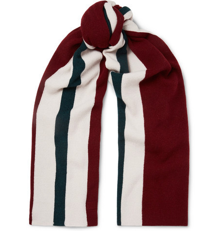 Acne☆Ninos Striped Wool Scarf