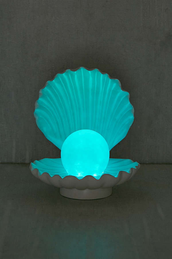 UrbanOutfitters☆Color-Changing LED Shell Lamp☆税送込