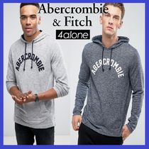 ★Abercrombie & Fitch★ロングスリーブ フロントロゴフーディ
