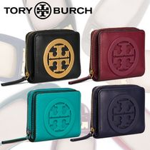 SALE★Tory Burch CHARLIE MINI BI-FOLD WALLET レザーミニ財布