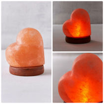 追跡・補償あり【宅配便】Mini USB Heart Himalayan Salt Lamp