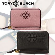 SALE★Tory Burch MCGRAW BI-FOLD WALLET レザー折りたたみ財布