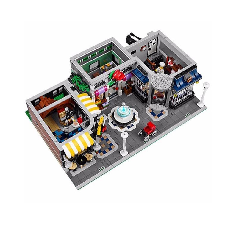 海外限定☆【LEGO】Creator Assembly Square☆10255