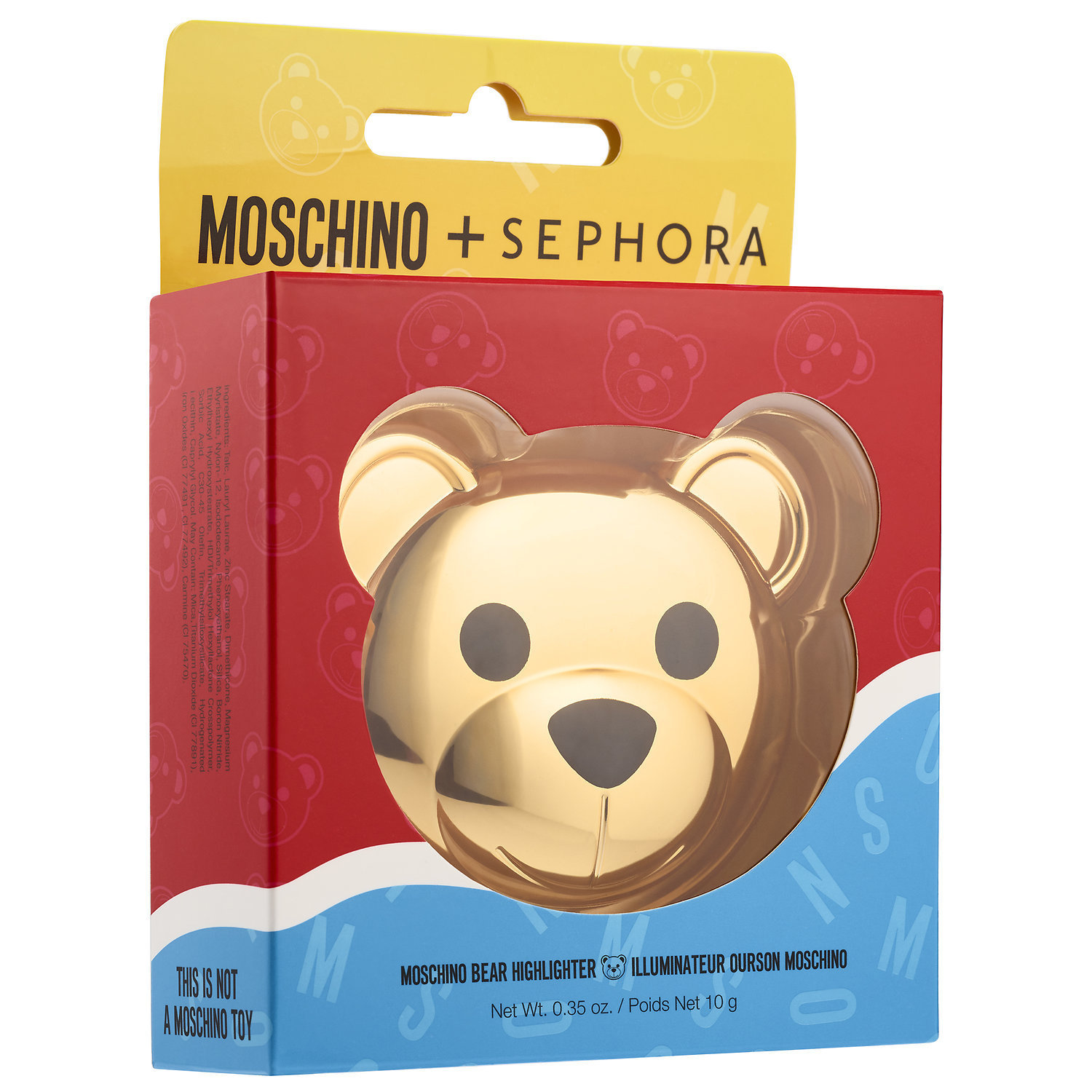 【限定】MOSCHINO + SEPHORA♡ Bear Highlighter